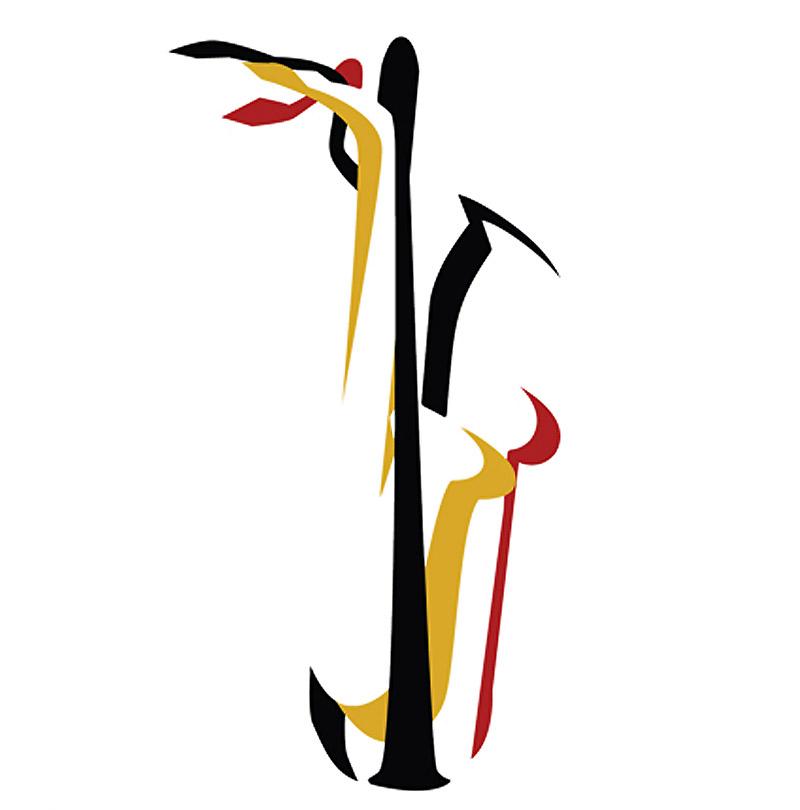 free state saxophone quartet logo design
