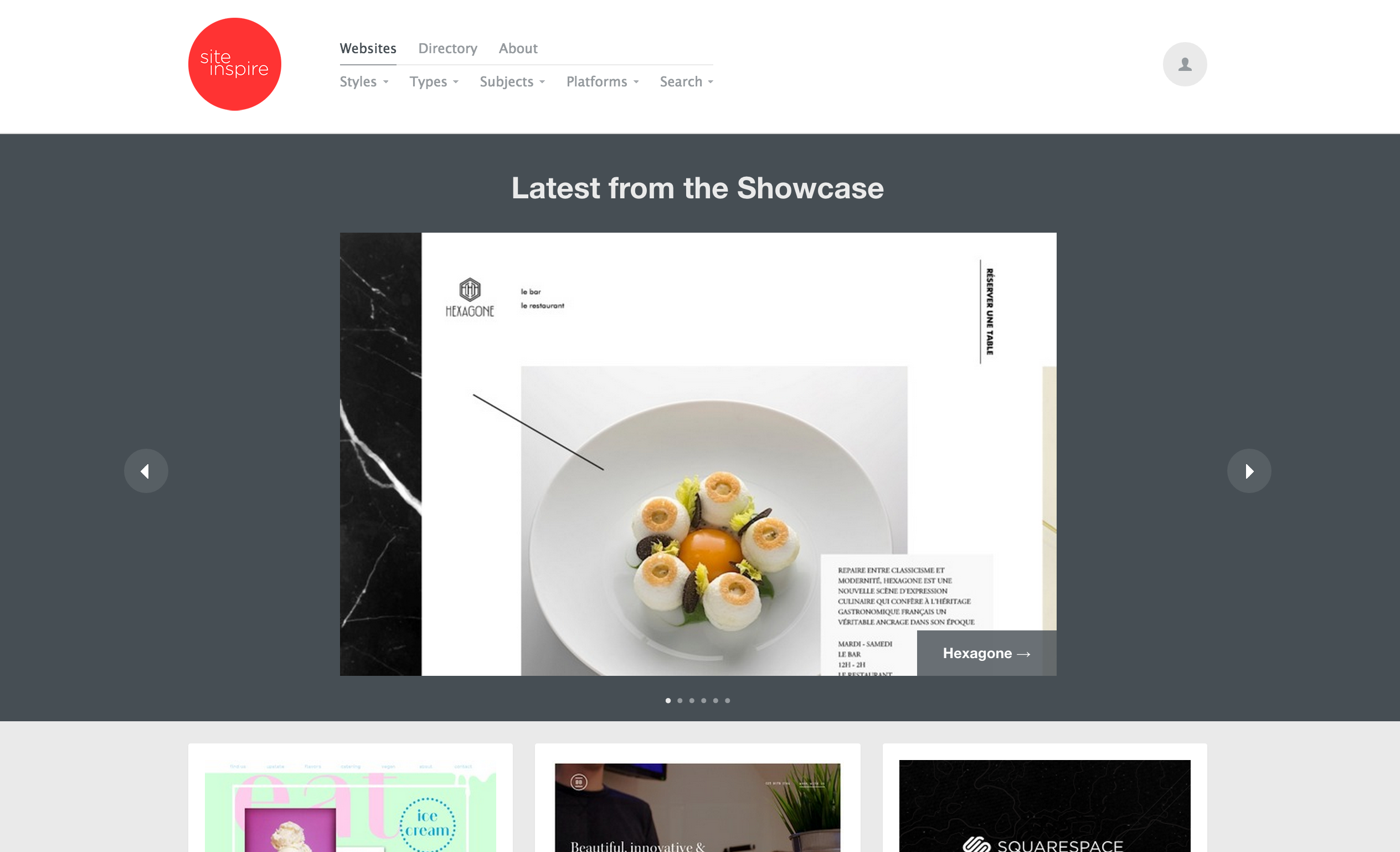 site inspire web design