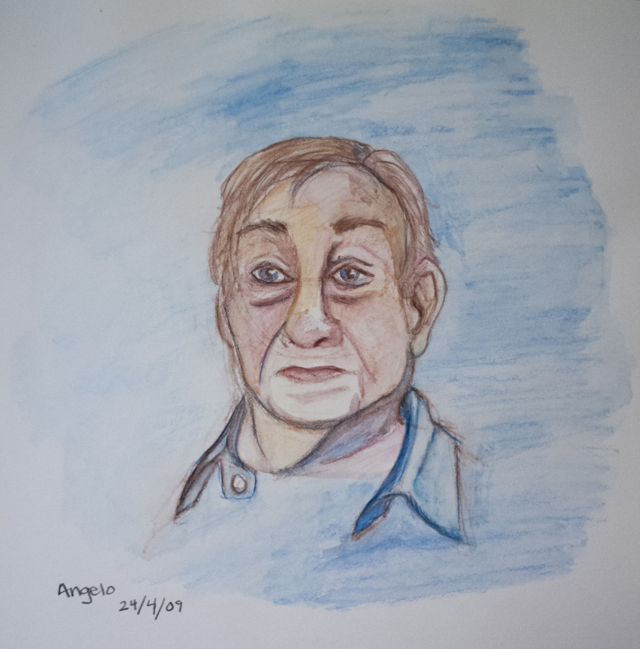 portrait of angelo