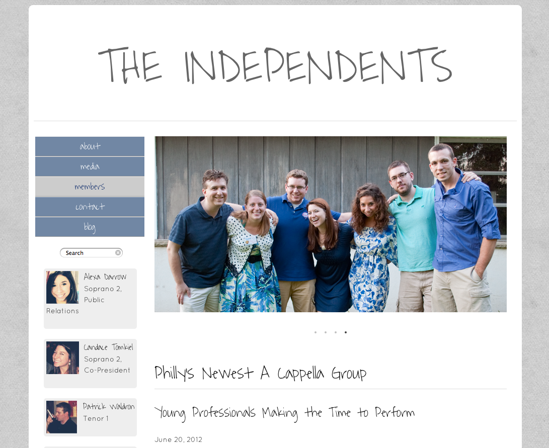 Final project is almost ready … @PHLIndependents.