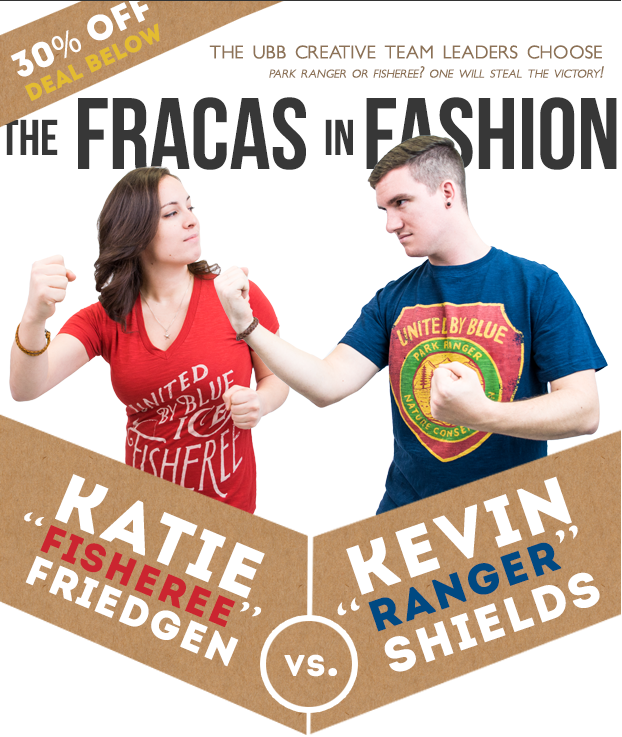 The Fracas in Fashion, eNewsletter Design for United By Blue