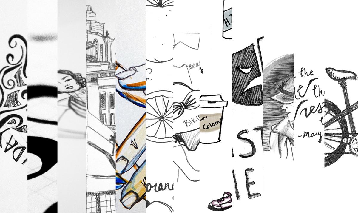 Draw Something Everyday 2015 Recap